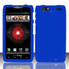 Blue Motorola DROID RAZR MAXX XT913 Faceplate Snap-on Phone Hard Cover Case
