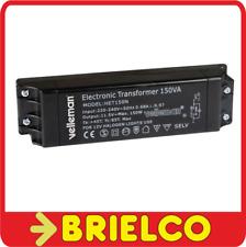TRANSFORMADOR ELECTRONICO 220 A 12V 150W PARA 3 LAMPARAS HALOGENAS DE 50W BD1533