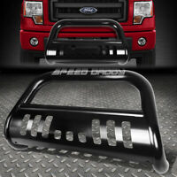 "FOR 11-16 FORD EXPLORER U502 CUV BLACK 3"" BULL BAR PUSH BUMPER GRILLE GUARD+SKID"