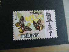 MALAYSIA/SELANGOR 1971 SG 153  BUTTERFLIES .  MNH