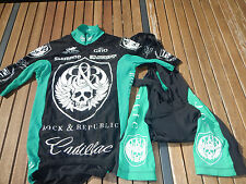 ORIGINALE Rock Racing St. Patrick Day Green KIT San Dimas RACE 2007 Taglia S RAR!!!