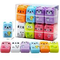 1pc Mini Roller Eraser Cartoon Rubber Kawaii Students Kids Gifts Stationery P7O7