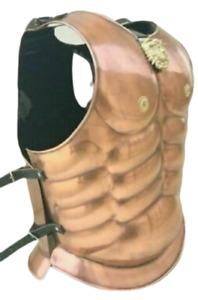 Armor Spartan Jacket Muscle Medieval Helmet Costume Roman Greek Halloween gift