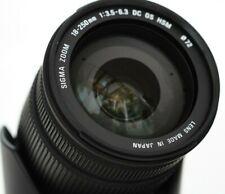 SIGMA ZOOM 18-250 mm F/3.5-6.3 OS HSM DC Objektiv für NIKON