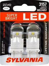 SYLVANIA ZEVO LED SUPER BRIGHT 3157 3057 4057 LED - 12v 0.7W - 2 BRAND NEW Bulbs
