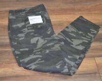 Sonoma Supersoft Stretch Jeans Camo Skinny Jean Plus Size Denim Pants