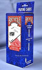 BICYCLE PLAYING CARDS Poker 12 Pack - 6 BLUE & 6 RED 808 Standard Decks Games