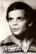 Klaus Kinski ++Autogramm++ ++Edgar Wallace Filme++