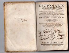 dizionario storico portatile ladvocat 1777 tomo V