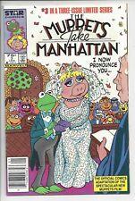 Muppets Take Manhatten 3 - NM (8.5) $.75 Canadian Variant RARE Star Comics