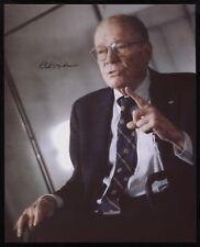 Robert McNamara Signed 8 x 10 Inch Photo Vintage Autographed Signature JFK