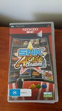 SNK Arcade Classics Volume 1 (Sony Playstation Portable, PSP) Neo Geo Complete
