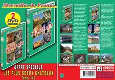 Lot 2 DVD Plus beaux chateaux Nord et Sud : 95 chateaux et monuments - Merveille