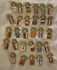 Vintage UEFA Youth Champion Chip 29 Badges 1984