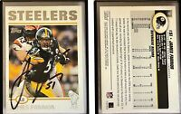 James Farrior Signed 2004 Topps #32 Card Pittsburgh Steelers Auto Autograph