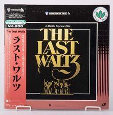 04500 VG Laserdisc THE LAST WALTZ / Martin Scorsese OBI Japan NJEL-99354