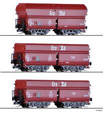 Tillig TT 01766 Erzwagen Set 3tlg. Erz IIId DB Ep. III Wagenset NEU in OVP