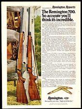 Jan. 1977 REMINGTON 700 & 700 BDL Center Fire Rifle Photo AD
