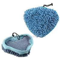 2 x Coral Microfibre Cloths Covers Pads for HYUNDAI 1500W Steam Cleaner Mop