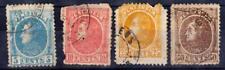 Vénézuéla - Collection d'anciens - 1880 - N° 24 à 27 oblitérés