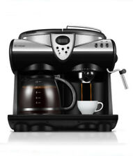Home Commercial Coffee Maker Semi Automatic Office Steam Coffee Maker Machine #