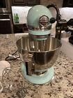 KitchenAid KV25G0X 5-Quart Professional Standalone Mixer - Ice Blue photo