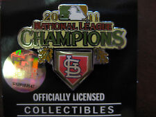 2011 World Series NL Champs Pin - St. Louis Cardinals