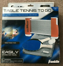 Table Tennis to Go - Franklin - 2 paddles, 2 balls, 1 net, 1 carry bag