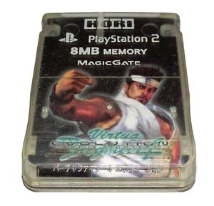 Virtua Fighter 4 Hori Magic Gate PS2 Memory Card PlayStation 2 8MB