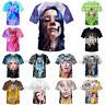 Sexy Billie Eilish 3D Print Casual T-Shirt Mens Womens Short Sleeve Tee Tops