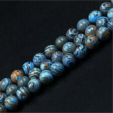 30pcs Natural Turquoise Loose Beads 6mm For DIY Bracelet Necklace