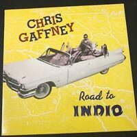 "1986 Chris Gaffney Road to Indio 12"" EP vinyl rockabilly Country Rock NM RARE"