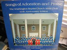 WASHINGTON BAPTIST CHURCH MASS CHOIR Shelby North Carolina Black Gospel Soul a