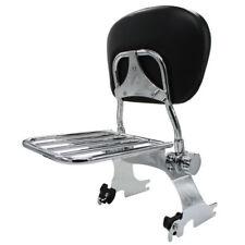 Detachable Sissy Bar Backrest W/ Luggage Rack For Harley Sportster XL883 1200