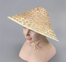 COOLIE HAT STRAW, CHINESE FANCY DRESS ACCESSORY