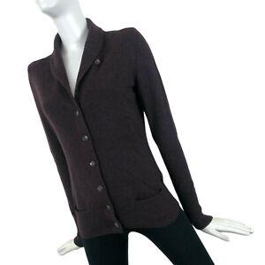 RARE Loro Piana Women Brown BABY CASHMERE Knit Jumper Sweater Pullover Size 40 S