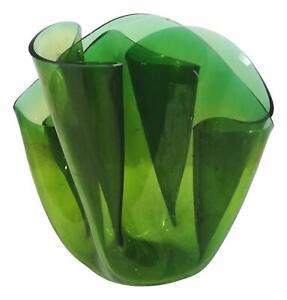 vaso fazzoletto cartoccio fratelli guzzini design luigi massoni 1970