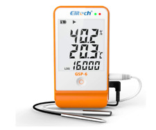 More details for elitech gsp-6 temperature humidity data logger recorder refrigerator cold chain