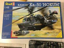 Revell 1/48 Kamov Ka-50 'Hokum' with North Star resin wheels and Aires Ka-50 Gun