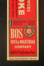 1930s Koppers Coke BOS Fuel Coal 6600 Fullerton Ave. Chicago IL Cook Co MB