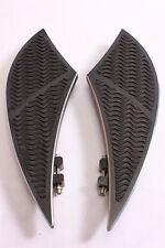 BILLET FOOT BOARD FOOTBOARDS FLOORBOARDS FOR HARLEY TOURING FL SOFTAIL 80-13