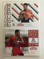 2018-19 Contenders 2 card RC Lot DeAndre Ayton School Colors + Game Day Ticket