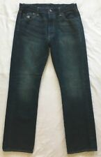 LEVIS 501 Straight Leg Button Fly Jeans 34 x 30 Morning Roast NWOT 33x29 actual