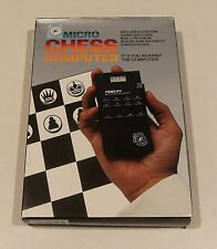 RARE FIND VINTAGE FIDELITY MICRO CHESS COMPUTER MODEL 6096 NEW IN BOX FREE SHIP