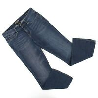 Lucky Brand Womens Sweet N Low Bootcut Ankle Jeans Sz 6 / 28 (31 x 30) Med Denim