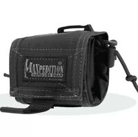 Maxpedition MX208B Black Rollypoly Folding Waist Storage Pouch