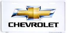 PLAQUE DE VOITURE AMERICAINE-CHEVROLET  -NEUVE DECORATION USA - OFFICIEL