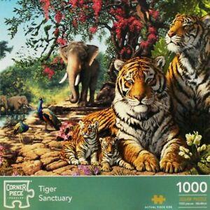 1000 PIECE TIGER SANCTUARY JIGSAW - NEW/SEALED - FREE P&P!!