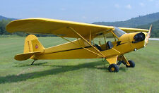 """Model Airplane Plans (RC-FF): Piper J3 Cub 34"""" Scale for ¼A Engine (Flyline)"""