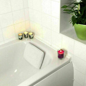 Luxury Bath Pillow Head Rest Bathtub Comfort Neck Support Spa with Suction Cups